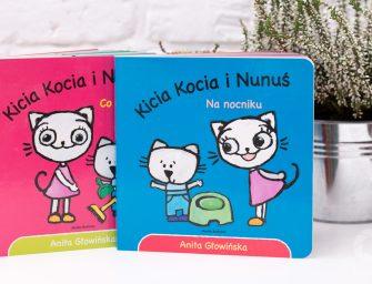 Prezent dla 2-latka: Kicia Kocia i Nunuś